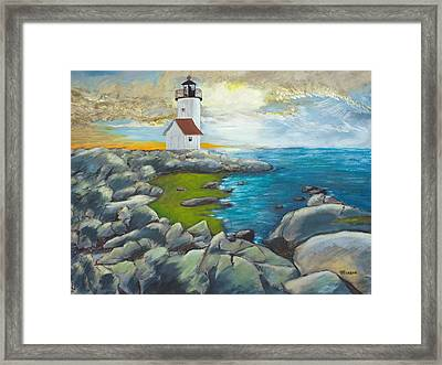 Atlantic Dusk Framed Print