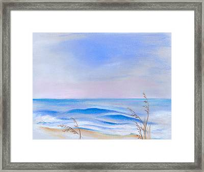 Atlantic Evening Framed Print by MM Anderson