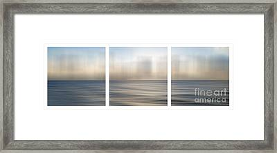 Atlantic Evening Framed Print by Sabine Jacobs