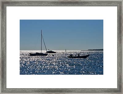 Atlantic Gateway Framed Print