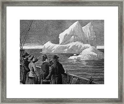 Atlantic Iceberg Framed Print by Bildagentur-online/tschanz