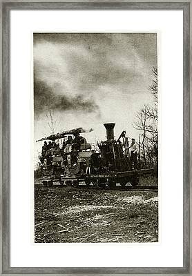 Atlantic Locomotive Framed Print by Cci Archives