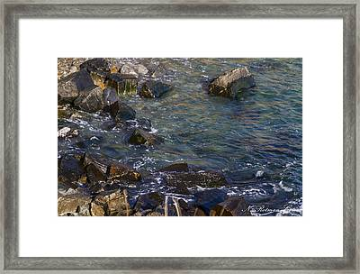 Atlantic Ocean Maine Framed Print