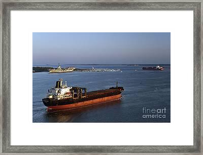 Atlantic Pearl - D006799 Framed Print