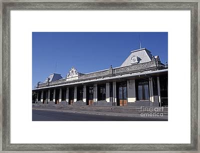 Atlantic Railway Station San Jose Costa Rica Framed Print by John  Mitchell
