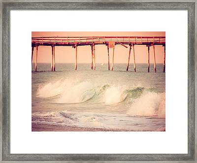 Atlantic Waves Framed Print by Mark Hazelton