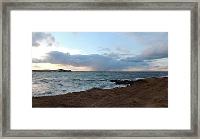 Atlantic Winter Afternoon  Framed Print