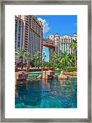 Atlantis - Bahamas Framed Print