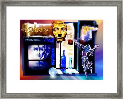 Atlantis Memory Framed Print by Hartmut Jager