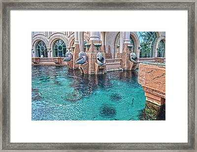 Atlantis Resort In The Bahamas Framed Print