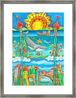 Atlantis Framed Print by Sonja Mengkowski