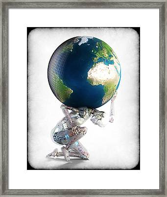 Atlas 3000 Framed Print by Frederico Borges