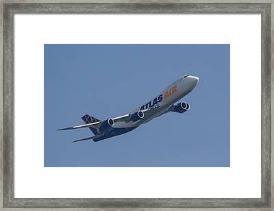 Atlas 747-8f Framed Print by Patrick Bell