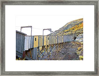 Atlas Coal Mine Fall Framed Print
