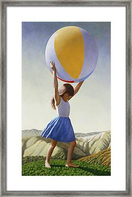 Atlas Framed Print by David Palmer