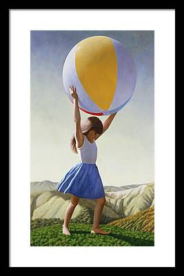 Ball Framed Prints