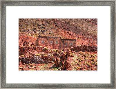 Atlas In Morocco Framed Print