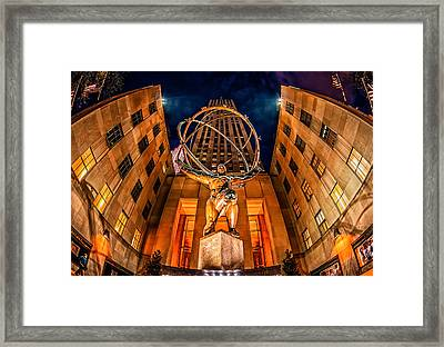 Atlas Framed Print