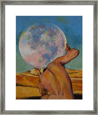 Atlas Framed Print by Michael Creese
