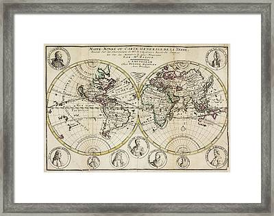 Atlas Of The World Framed Print by British Library