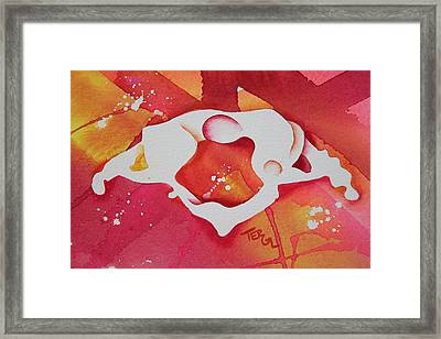 Atlas S To I View Framed Print by Teresa Grace Fourre