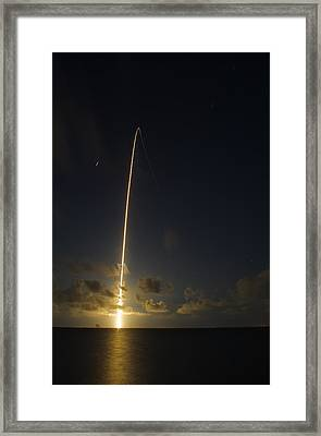 Atlas V Launch Framed Print