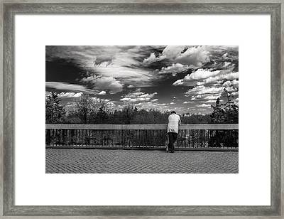 Atmosphere - Featured 3 Framed Print