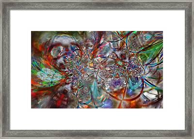 Atmosphere Framed Print by Kenneth Hadlock