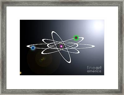 Atom  Framed Print by Lali Kacharava