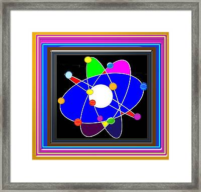 Atom Science Progress Buy Faa Print Products Or Down Load For Self Printing Navin Joshi Rights Manag Framed Print