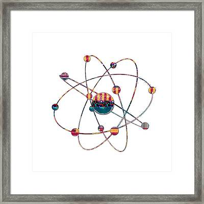 Atom Science Research  Buy Faa Print Products Or Down Load For Self Printing Navin Joshi Rights Mana Framed Print