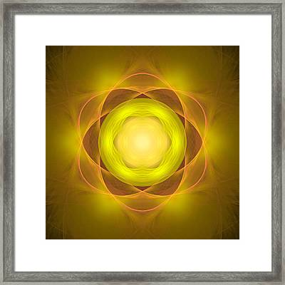 Atome-35 Framed Print by RochVanh