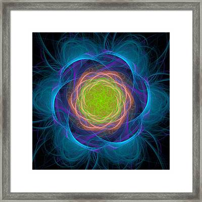 Atome-48 Framed Print by RochVanh