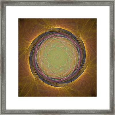 Atome-54 Framed Print by RochVanh