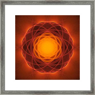 Atome-64 Framed Print by RochVanh