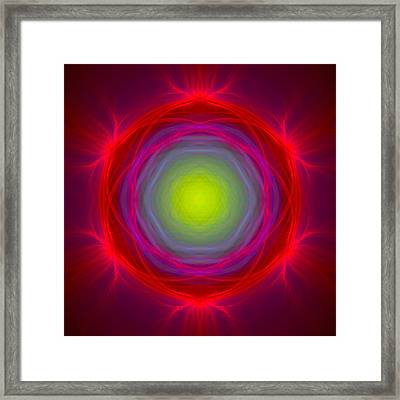 Atome-65 Framed Print by RochVanh