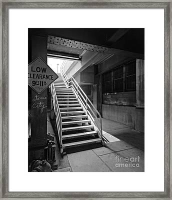 Atomic City Framed Print