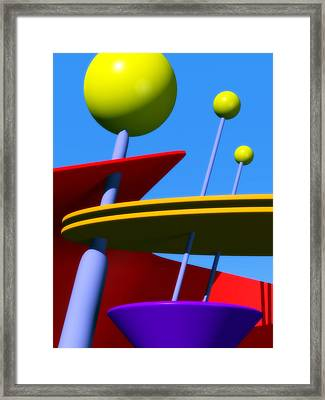Atomic Dream Framed Print