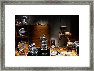 Atomic Kitchen Framed Print
