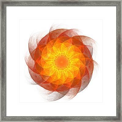 Atomic Framed Print by Steve K