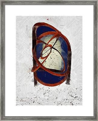 Atomic Truth Framed Print by RC deWinter