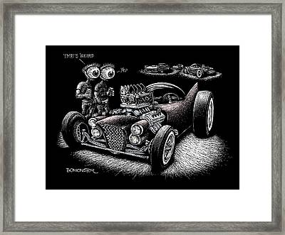 Atomic Weirdness Framed Print