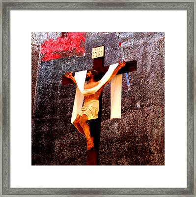Atonement Framed Print by Joseph Coulombe