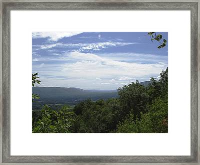 Atop Aeolus Framed Print by Richard DeYoung