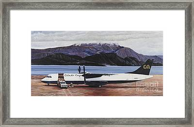 Atr 72 - Arctic Bay Framed Print