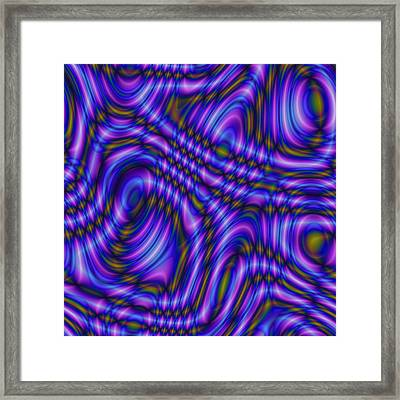 Framed Print featuring the digital art Atracareis by Jeff Iverson