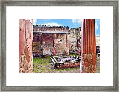 Atrium (courtyard Framed Print