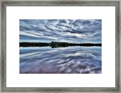 Atsion Lake II Framed Print