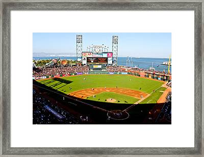 Att Park San Francisco  Framed Print by John McGraw