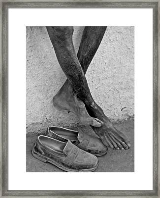 Attached Framed Print by Makarand Purohit
